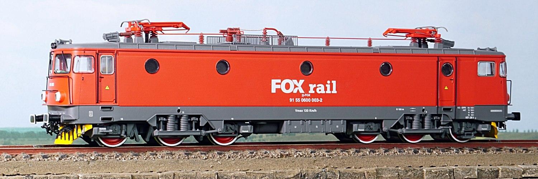 locomotiva 060 EA Fox Rail