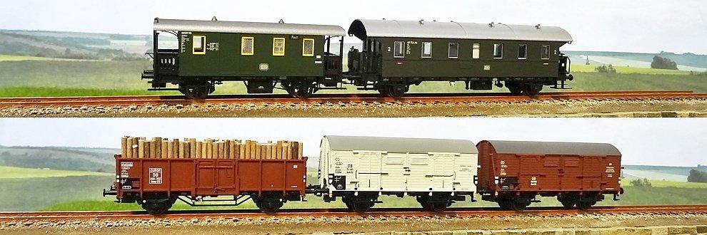 Set vagoane tren mixt Märklin 48816